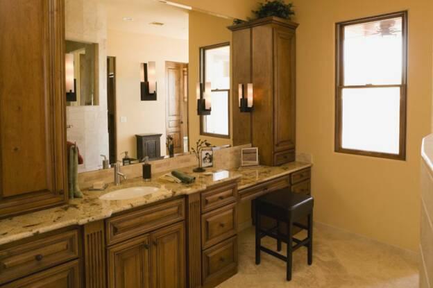 Portfolio - How to refinish a bathroom vanity ...